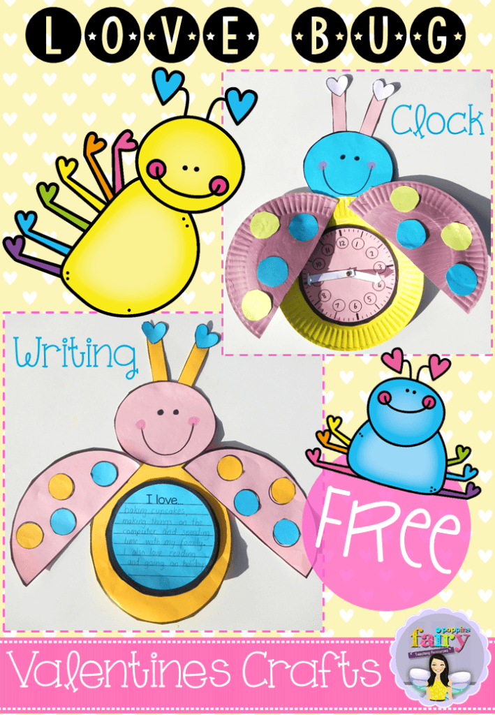 Fairy Poppins - Free Love Bug Templates