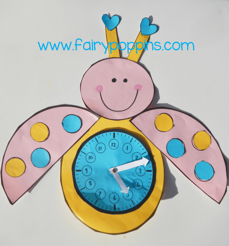 Love bug clock - Fairy Poppins