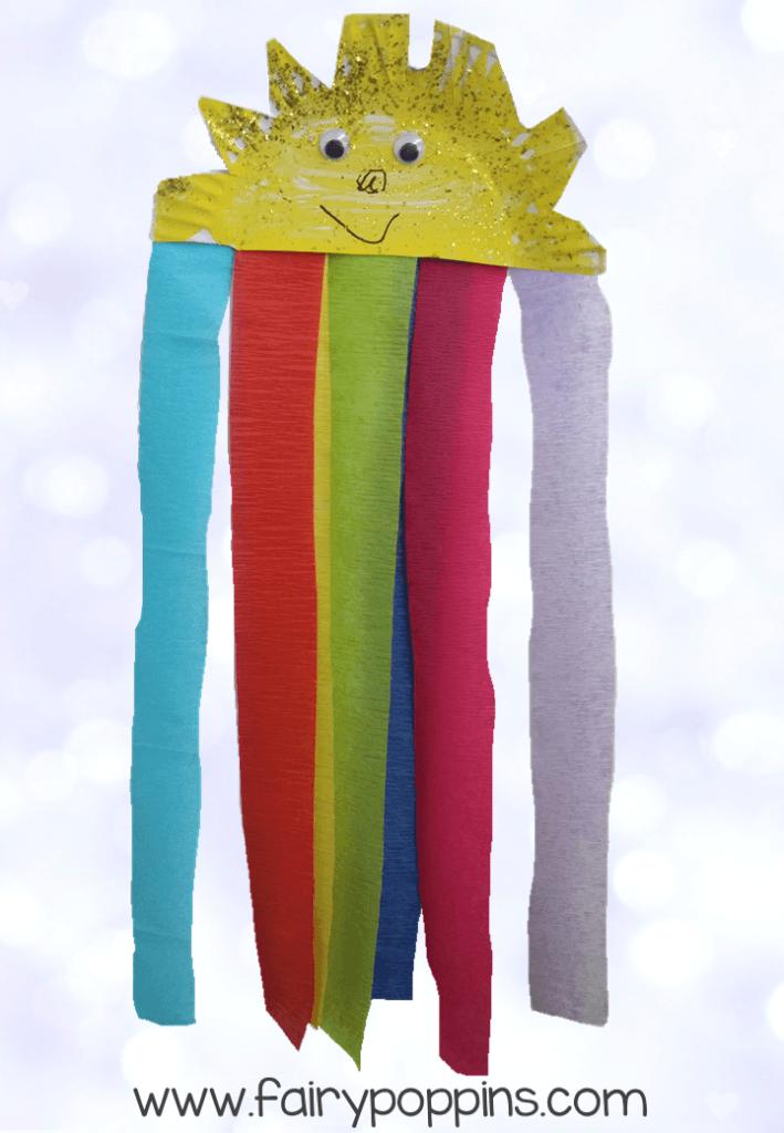 Fairy Poppins - Rainbow Sun Craft2