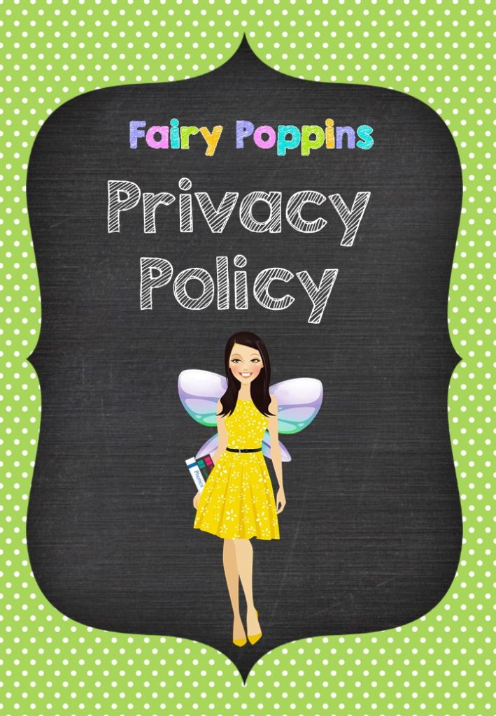 Privacy Statement - Fairy Poppins