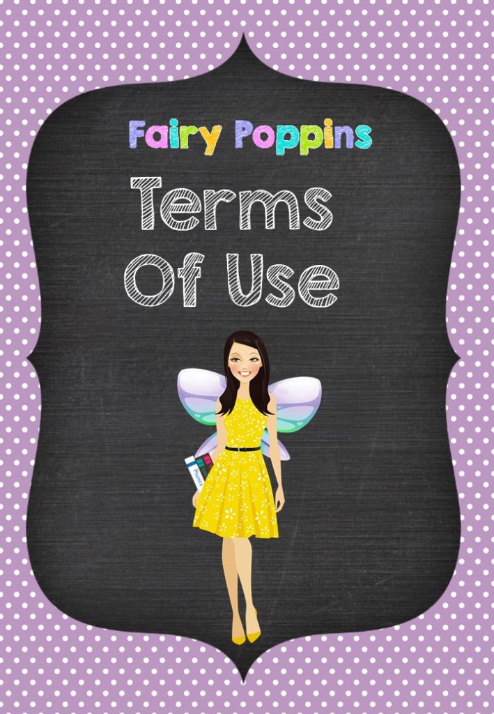 Terms of Use - Fairy Poppins