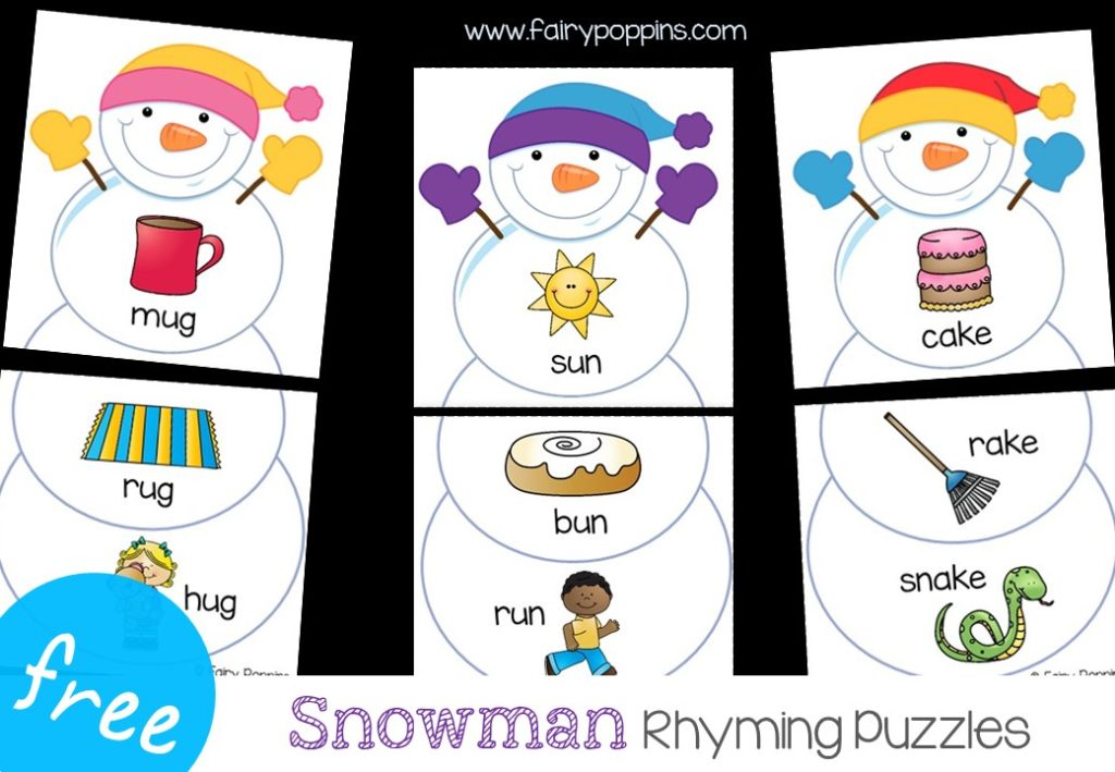 free-snowman-rhyming-puzzles-fairy-poppins