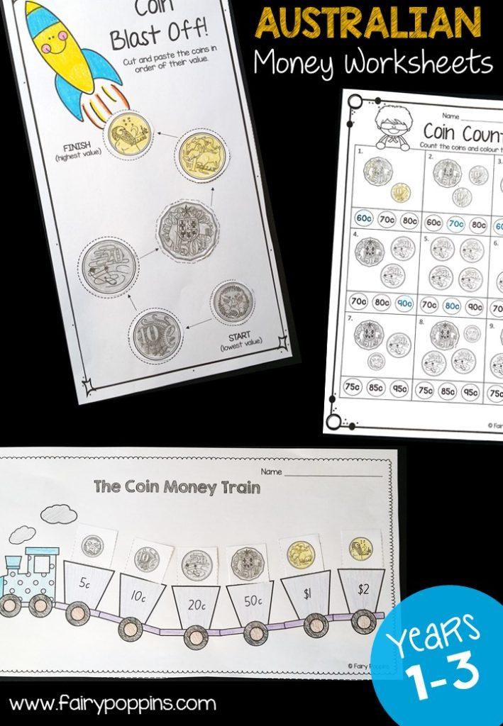 Hands-On Australian Money Activities u2013 Fairy Poppins