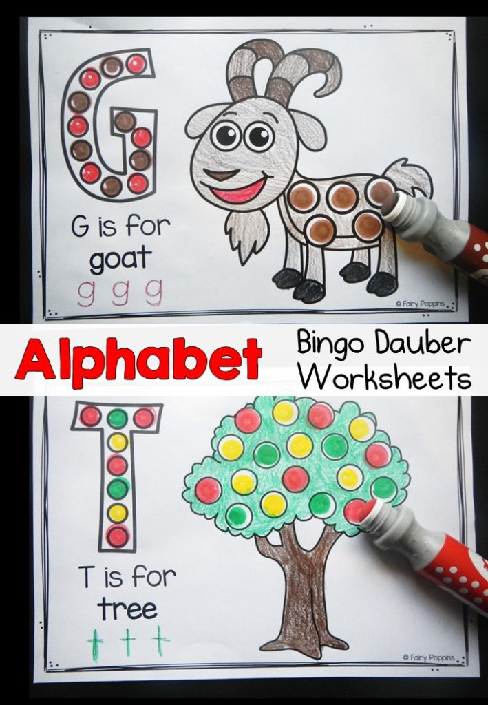 Lots to learn the alphabet