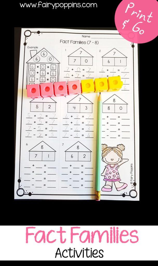 Part Part Whole Activities Fairy Poppins
