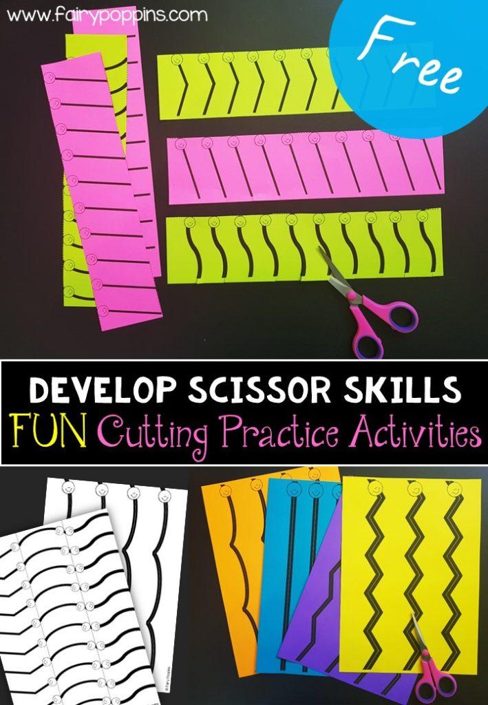 Developing Scissor Skills Fairy Poppins