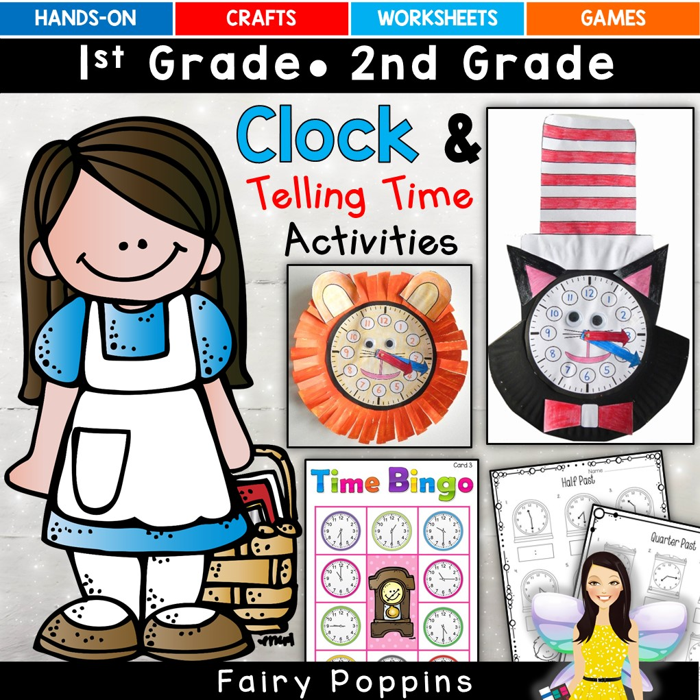 Telling Time Activities - Fairy Poppins