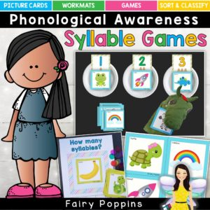 Syllable games - Fairy Poppins