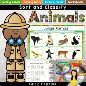 Community Helpers - Sort & Classify Mats | Fairy Poppins