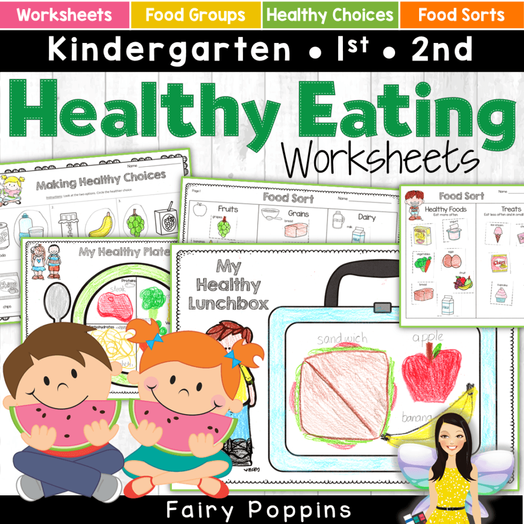 Food And Activities: Healthy Eating Activities For Kids
