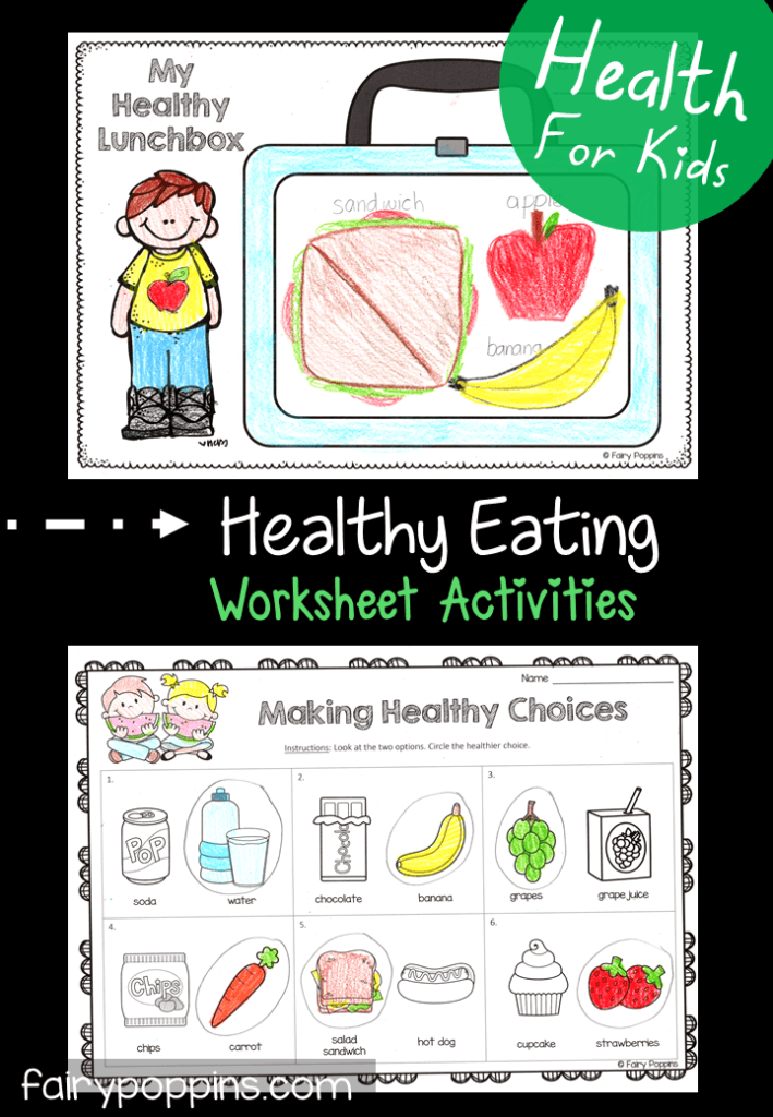 Healthy Eating Activities For Kids Fairy Poppins