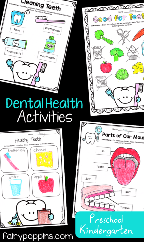 Dental Activities for Kids | Fairy Poppins