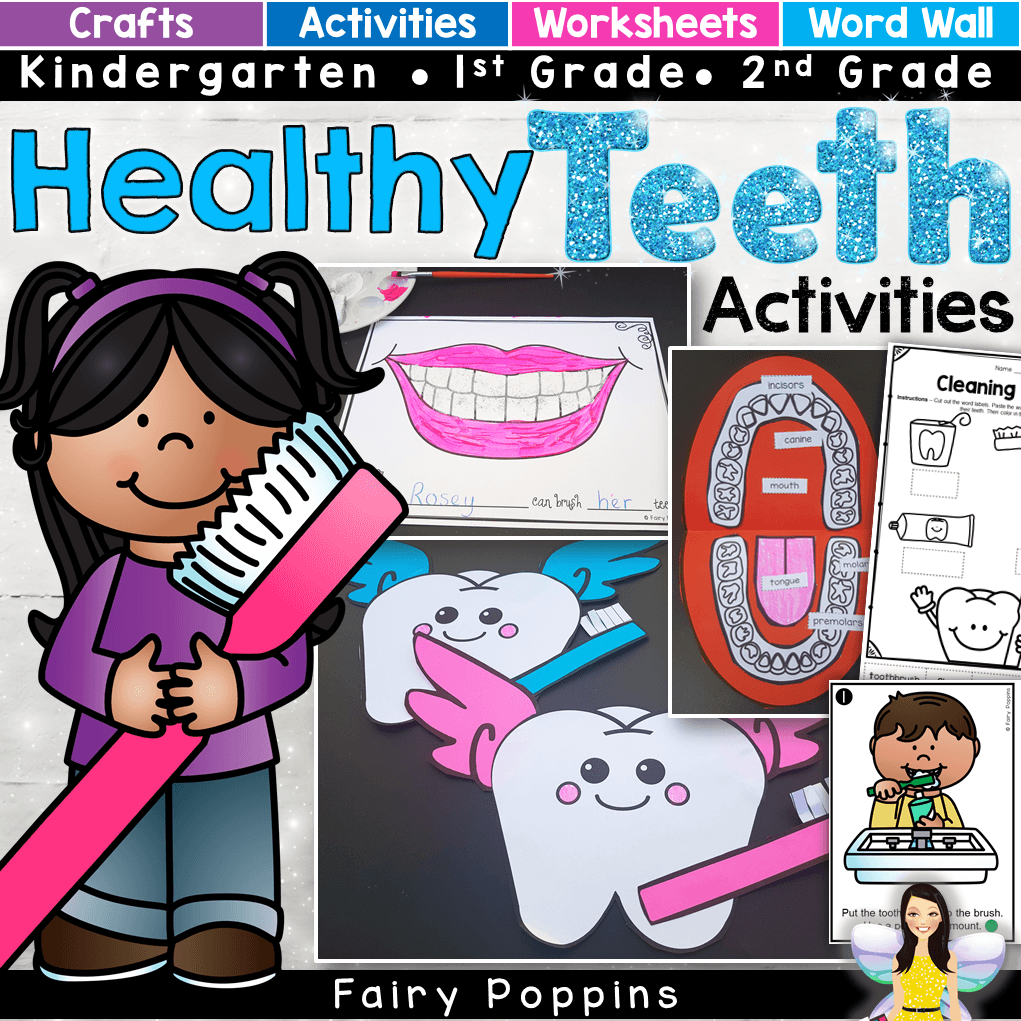 Dental Activities For Kids Fairy Poppins