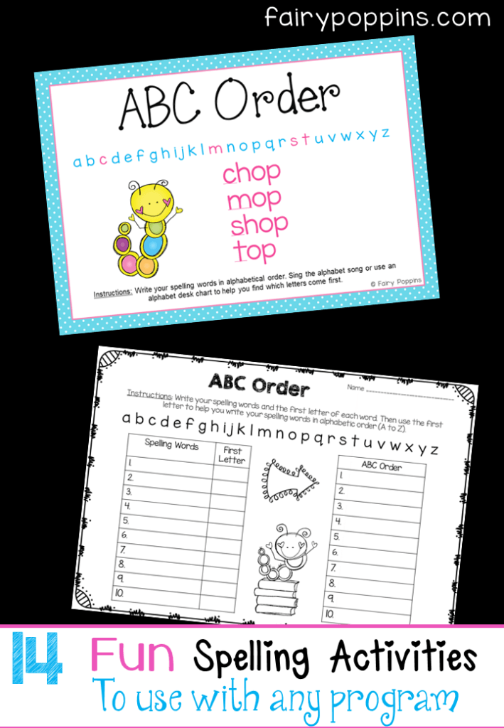 Sight Word & Spelling Games {Editable} | Fairy Poppins