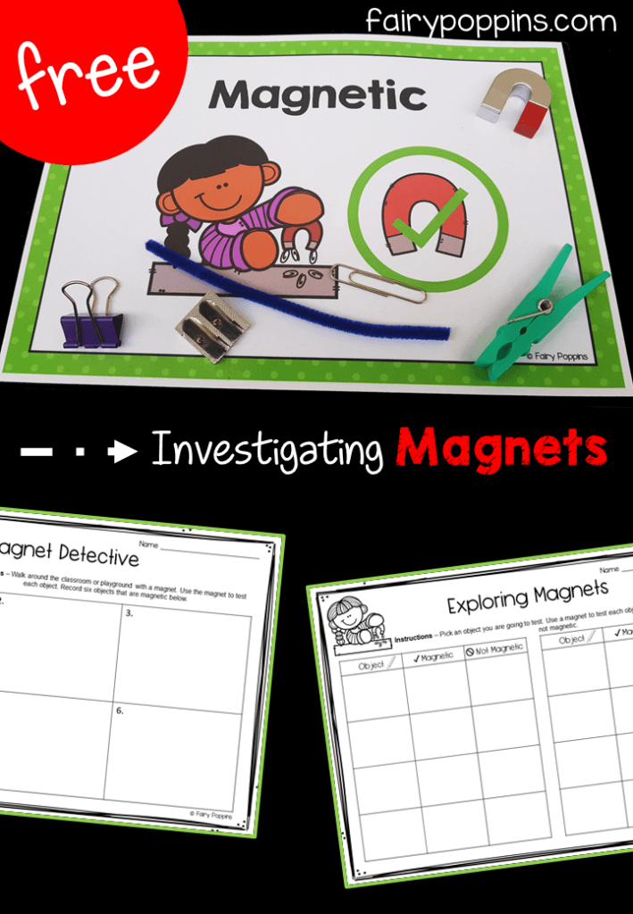 Magnet Activities Fairy Poppins