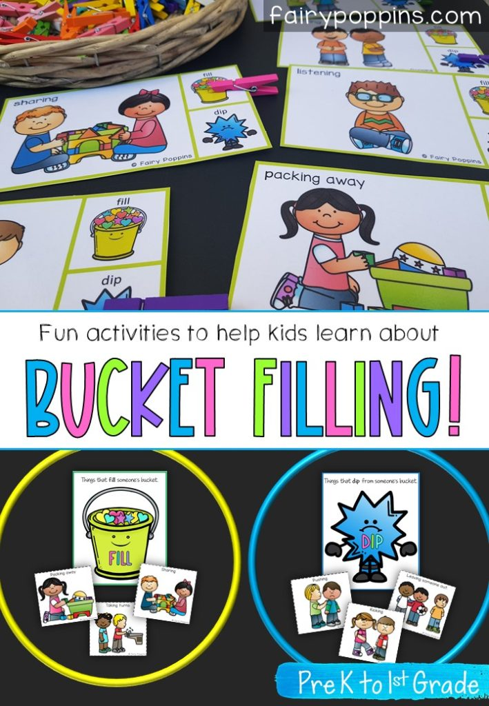 Create A Positive Classroom With Bucket Filling Activities Fairy Poppins